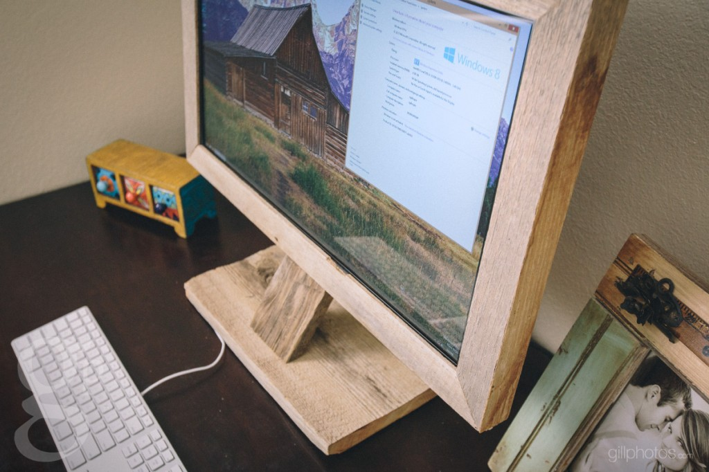 Windows 8 Custom Barnwood Computer